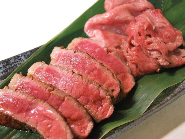 肉処 天穂(熟成佐賀牛A-5ランク厚切りステーキ&焼シャブ)