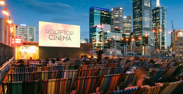 新宿ルミネの屋上イベント「ROOFTOP CINEMA」