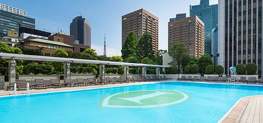 ANAインターコンチネンタルホテル東京ガーデンプール